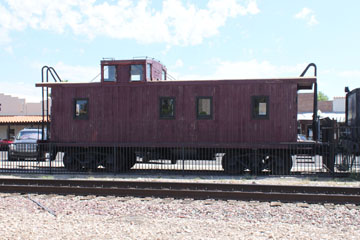 ATSF Drovers Caboose, Wickenburg