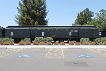 ATSF Baggage Car #197184, Scottsdale