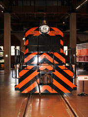 SN EMD SW1 #402, California State Railroad Museum