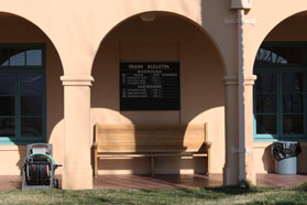 Union Pacific Depot, Kelso, CA