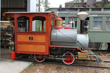 NCNG #13, Nevada County Narrow Gauge Railroad Museum