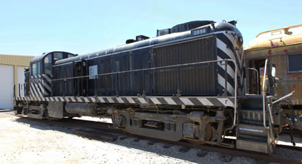 KCCX Alco RS-2 #103, Pacific Southwestern Railway Museum