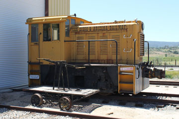 AGREX Whitcomb 45-Ton n/n, Pacific Southwestern Railway Museum