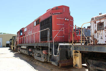 SP Alco RS-32 #7304, Pacific Southwestern Railway Museum