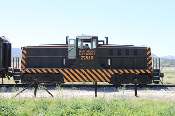 USA EMD 80-Ton #7283, Pacific Southwestern Railway Museum