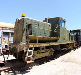 USN GE 44-Ton #65-00608, Pacific Southwestern Railway Museum