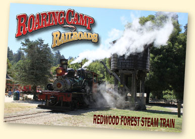 Roaring Camp & Big Trees Railroad, Felton, CA