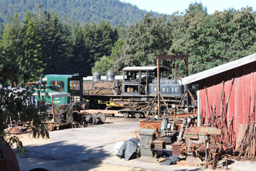 Elk & Little Kanawha #7, Roaring Camp & Big Trees Railroad