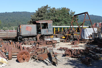 Elk River Coal & Lumber #6, Roaring Camp & Big Trees Railroad