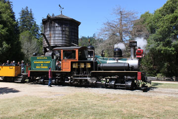 Roaring Camp & Big Trees Railroad #1, Felton
