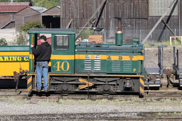 RCBT Plymouth 12-Ton #40, Roaring Camp & Big Trees Railroad