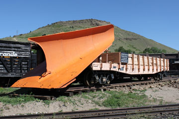 CBQ Wedge Plow #205065, Colorado Railroad Museum
