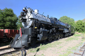 CBQ O-5a #5629, Colorado Railroad Museum