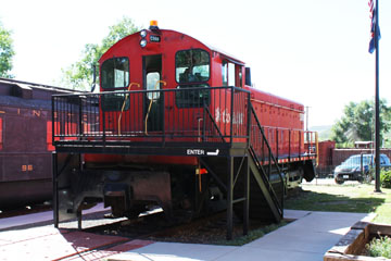 Coors EMD SW900 #C988, Colorado Railroad Museum