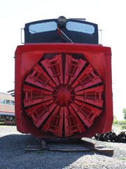 CS Rotary Snow Plow #99201, Colorado Railroad Museum