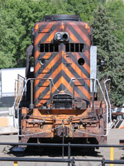 DRGW EMD GP30 #3011, Colorado Railroad Museum