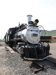 DRGW C-18 #318, Colorado Railroad Museum