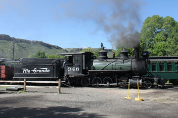 DRGW C-19 #346, Colorado Railroad Museum