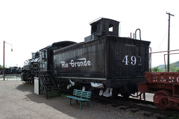 DRGW K-37 #491, Colorado Railroad Museum