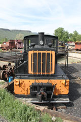 DRGW Plymouth 30-Ton #50, Colorado Railroad Museum