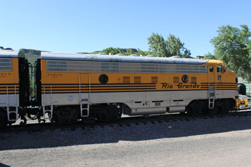 DRGW EMD F9 #5771 & 5762, Colorado Railroad Museum