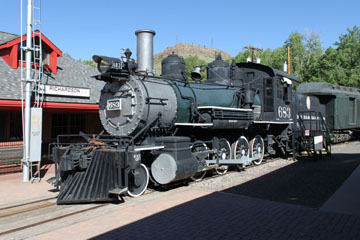 DRGW C-28 #683, Colorado Railroad Museum