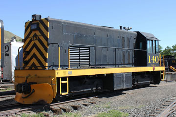 GBL GE 52-Ton #140, Colorado Railroad Museum