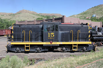 GBL GE 47-Ton #15, Colorado Railroad Museum