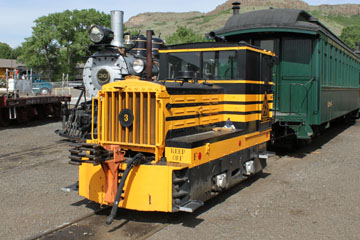 Golden City & San Juan #3, Colorado Railroad Museum