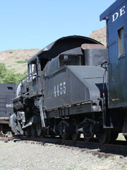 Union Pacific S-6 #4455, Colorado Railroad Museum