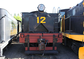West Side Lumber #12, Colorado Railroad Museum