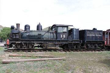 West Side Lumber #14, Colorado Railroad Museum