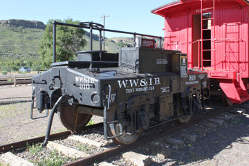WWIB Test Weight Car #910, Colorado Railroad Museum