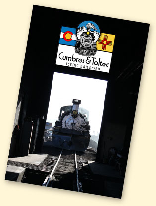 Cumbres & Toltec Scenic Railroad, Antonito, CO - Chama, NM