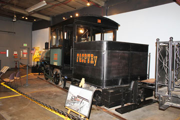 Cora-Texas #1, Forney Museum of Transportation