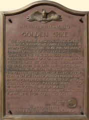 SP Golden Spike Monument, Promontory