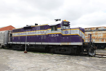 ACL EMD GP7 #1804, Gold Coast Railroad Museum