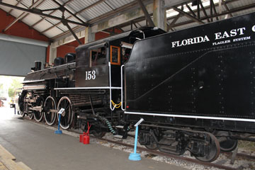FEC 151 #153, Gold Coast Railroad Museum