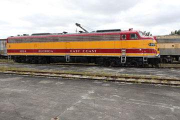 FEC EMD E8 #1594, Gold Coast Railroad Museum