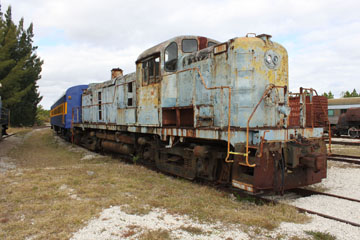 LI Alco RS-3 #1555, Gold Coast Railroad Museum