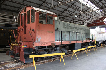NLAX Alco S-2 #1, Gold Coast Railroad Museum