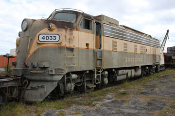 SAL EMD FP10 #4033, Gold Coast Railroad Museum