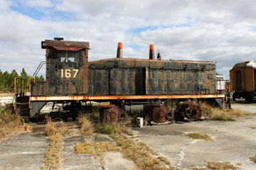 SBD EMD SW9 #167, Gold Coast Railroad Museum