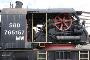 SBD Steam Crame #765157, Gold Coast Railroad Museum