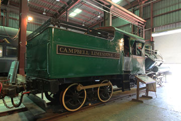 Campbell Limestone #9, Southeastern Railway Museum