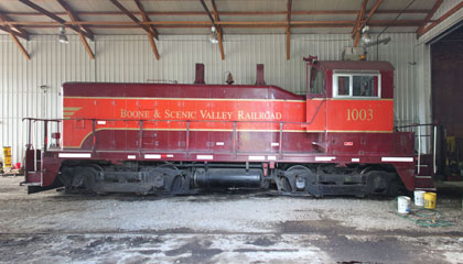 BSVY EMD NW2 #1003, Boone