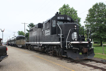 IC EMD GP11 #8733, Monticello Railway Museum
