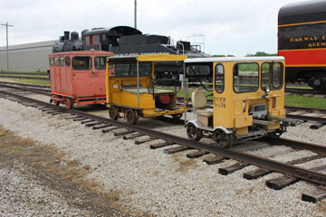 MOW Vehicles, Monticello Railway Museum