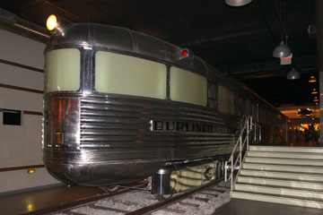CBQ Pioneer Zephyr #9900, Museum of Science & Industry