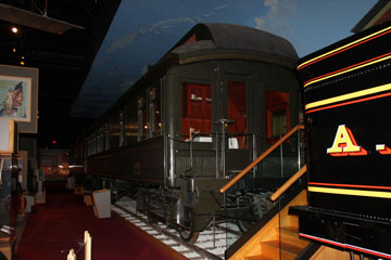 ATSF Superintendents Car #410, Kansas Museum of History